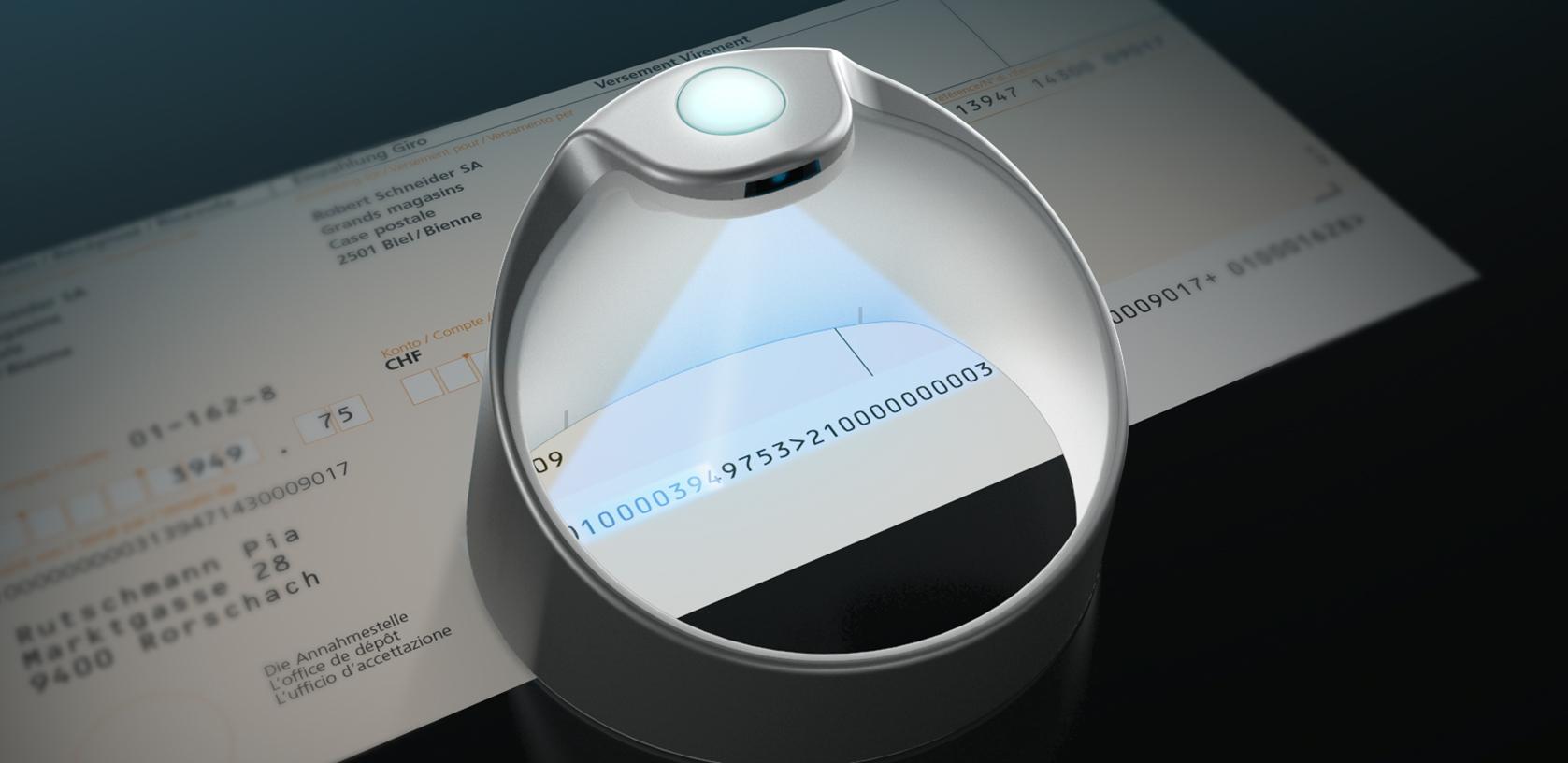 PayEye scannt eine ESR-Nummer