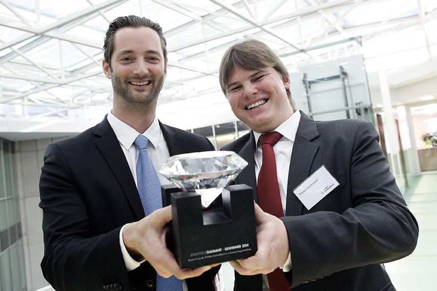 STARTFELD Diamant Gewinner 2014