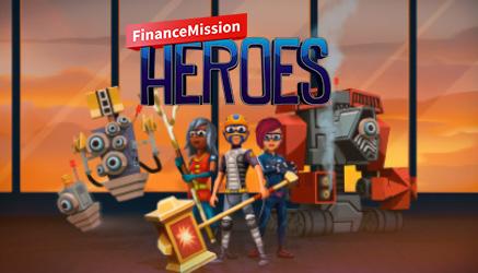 Symbolbild FinanceMission Heroes