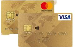 Gold International MasterCard und Visa