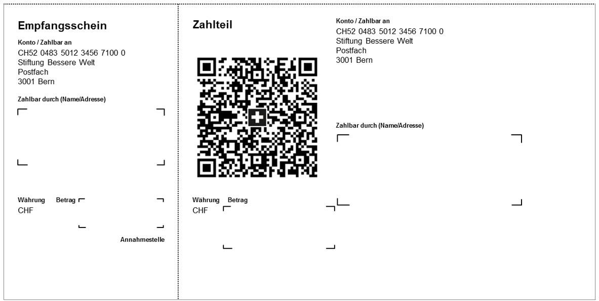 Beispiel QR-Rechnung