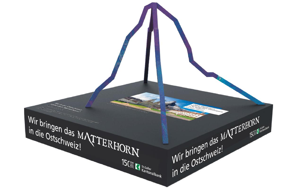 Matterhorn-Aktion SGKB, Silhouette